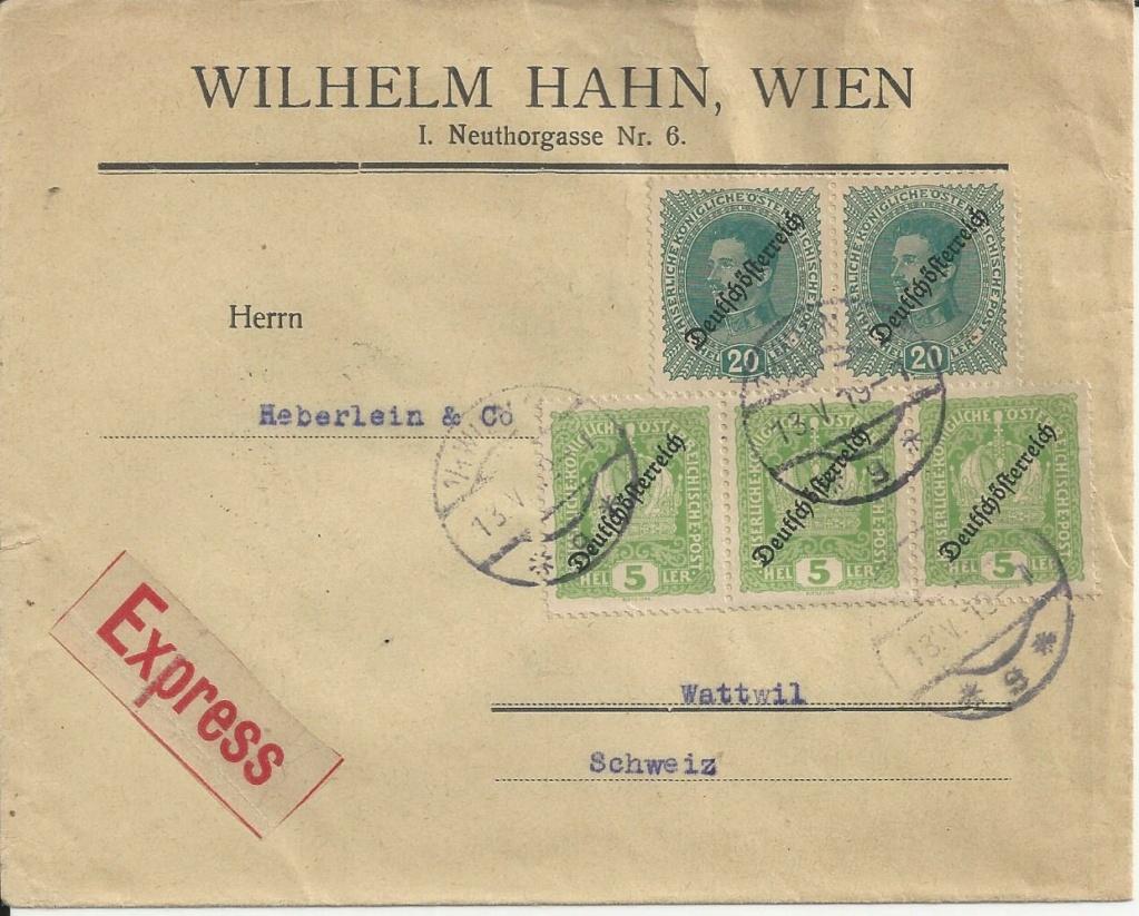 Inflation in Österreich - Belege - 1918 bis 1925 - Seite 24 Bild_553