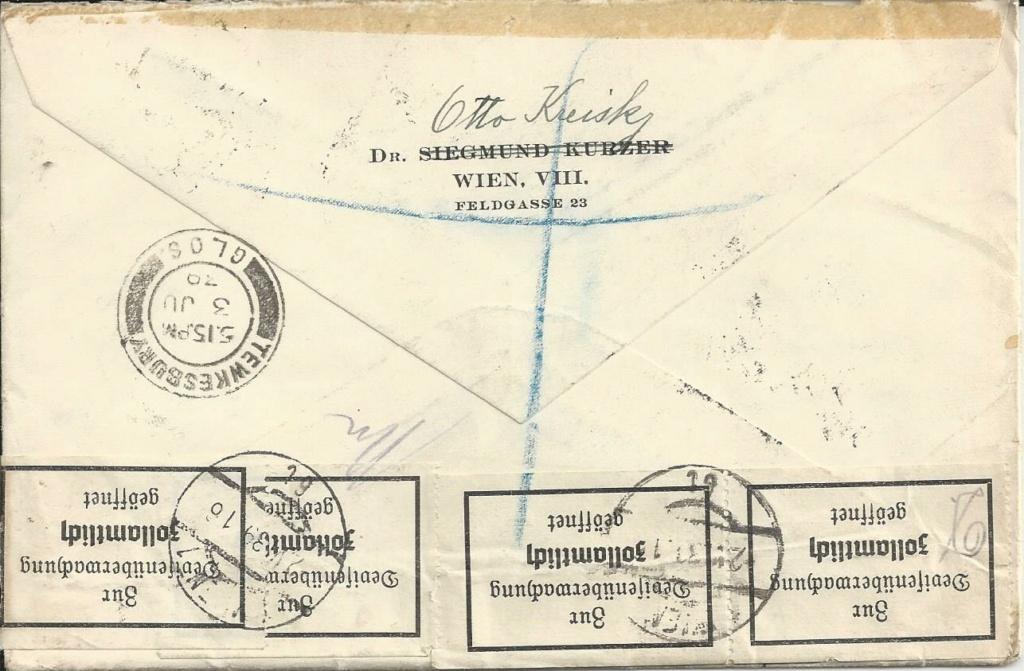 Österreich im III. Reich (Ostmark) Belege - Seite 20 Bild_554