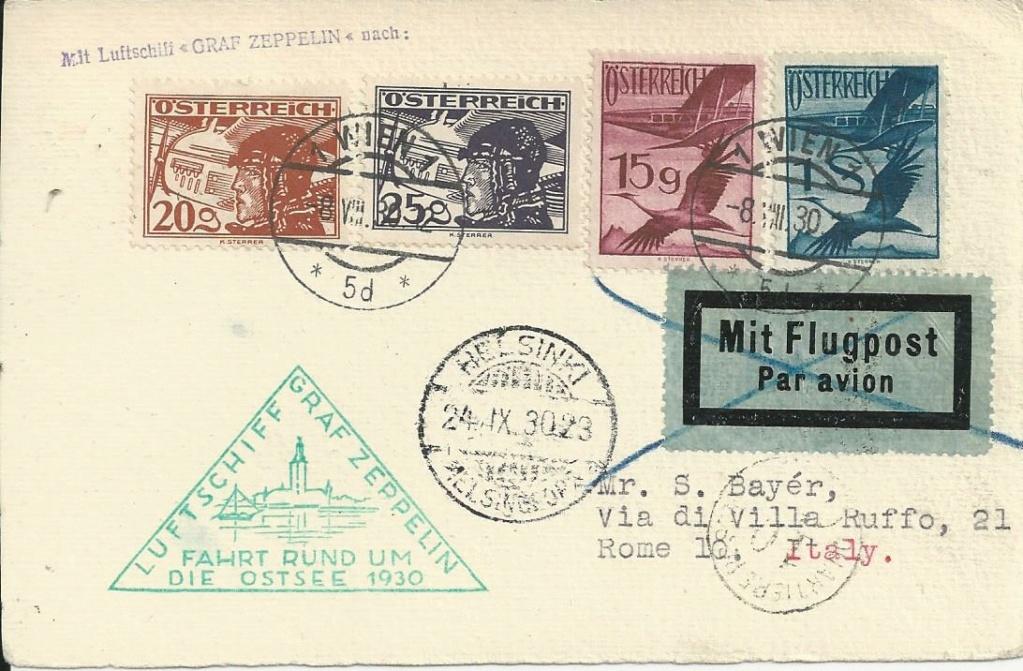 Zeppelinpost aus/nach Österreich Bild_560