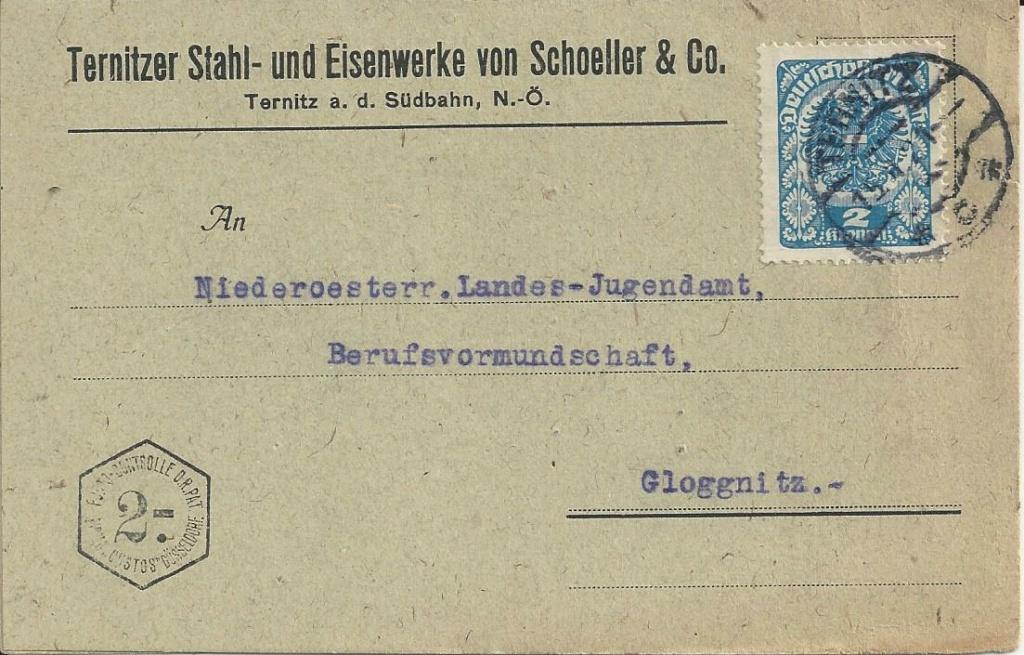 Inflation in Österreich - Belege - 1918 bis 1925 - Seite 24 Bild_570