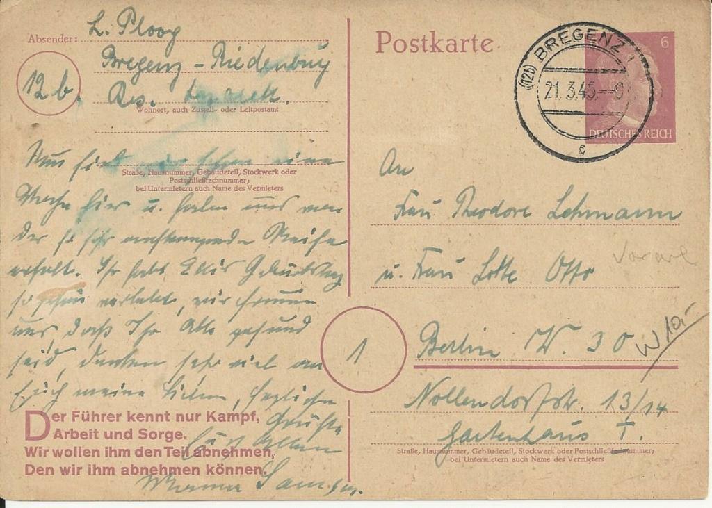 Österreich im III. Reich (Ostmark) Belege - Seite 21 Bild_593
