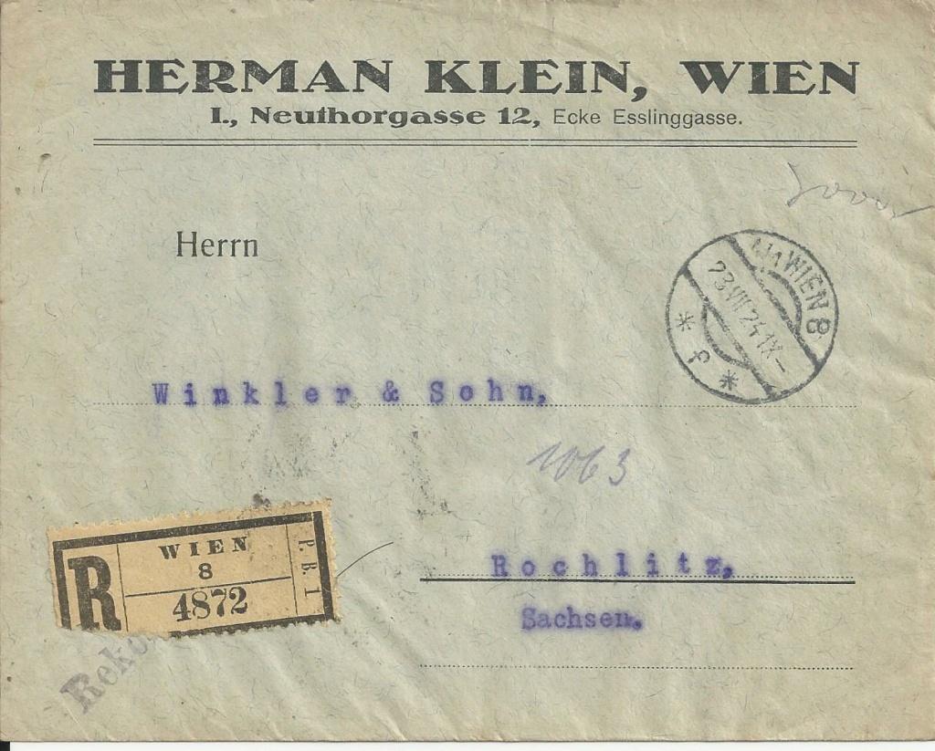 Inflation in Österreich - Belege - 1918 bis 1925 - Seite 24 Bild_598
