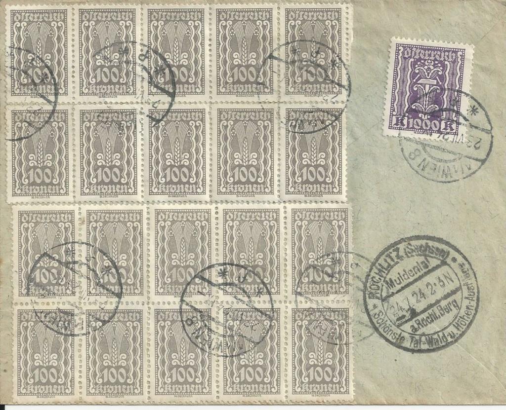 Inflation in Österreich - Belege - 1918 bis 1925 - Seite 24 Bild_599
