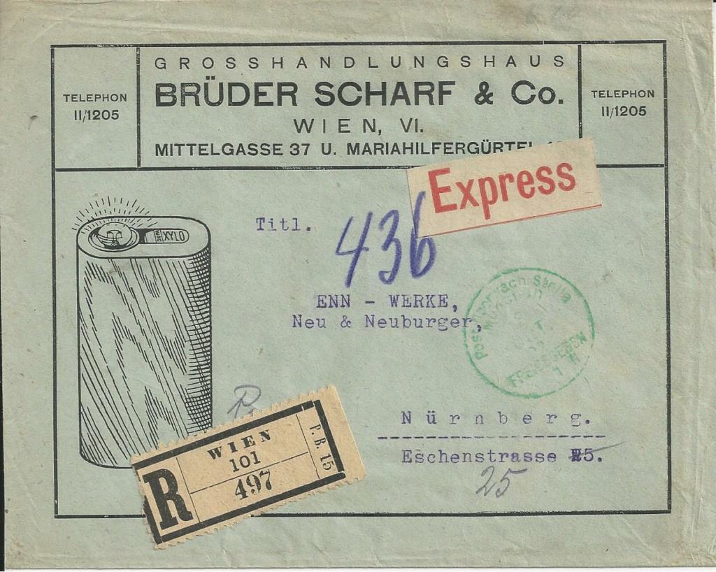 Inflation in Österreich - Belege - 1918 bis 1925 - Seite 24 Bild_602