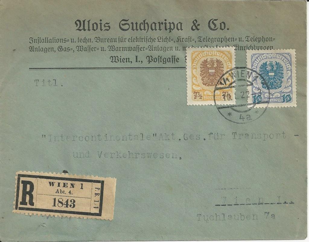Inflation in Österreich - Belege - 1918 bis 1925 - Seite 24 Bild_607