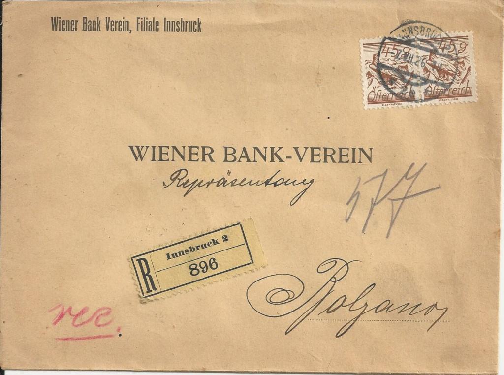 Briefe / Poststücke österreichischer Banken - Seite 4 Bild_614