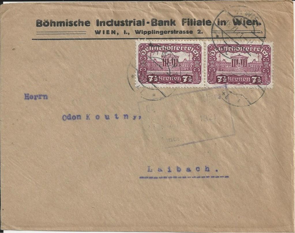 Inflation in Österreich - Belege - 1918 bis 1925 - Seite 20 Bild_621