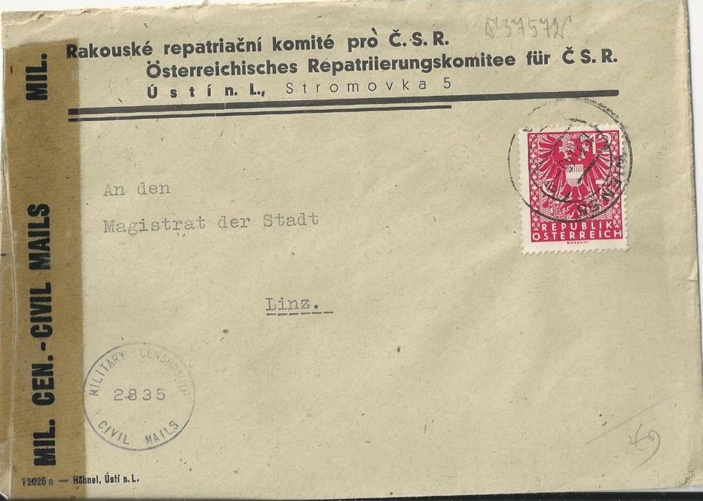 Sammlung Bedarfsbriefe Österreich ab 1945 - Seite 13 Bild_623