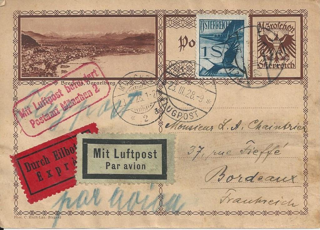Bedarfspost Ganzsachen Österreich 1925-1938 - Seite 2 Bild_638