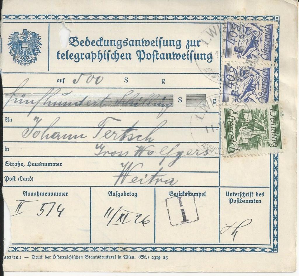 Bedarfspost Ganzsachen Österreich 1925-1938 - Seite 2 Bild_640
