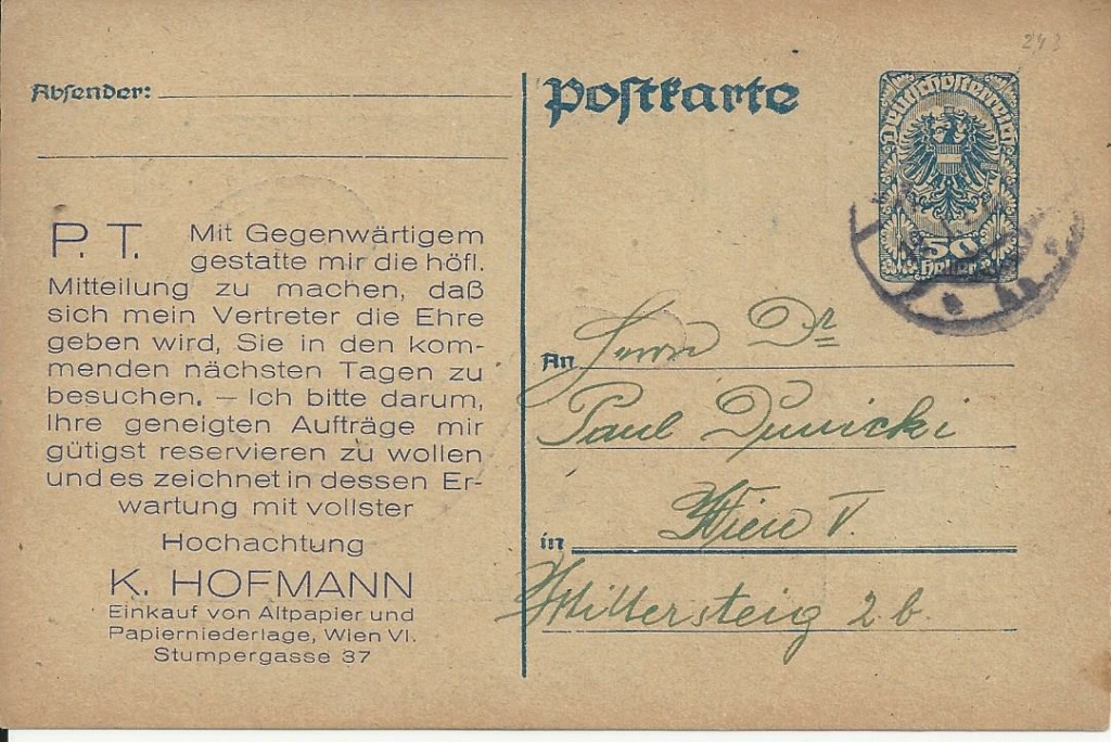 Werbeumschläge und -karten aus Österreich - Seite 8 Bild_661