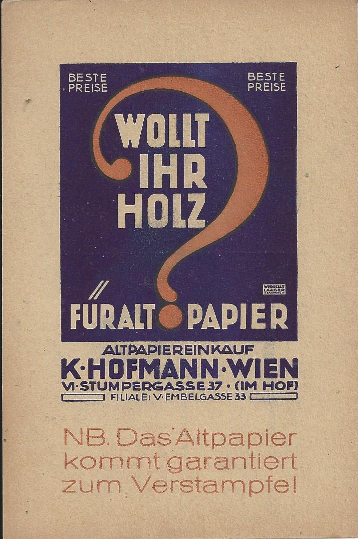 Werbeumschläge und -karten aus Österreich - Seite 8 Bild_662