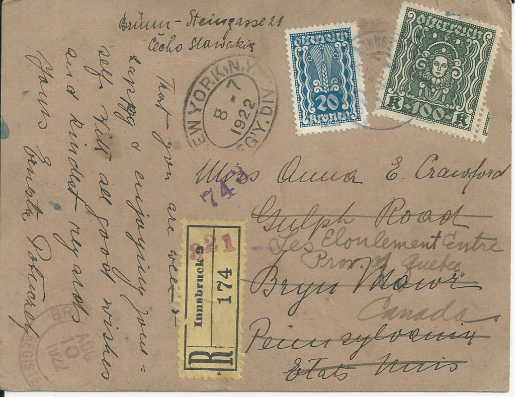 Inflation in Österreich - Belege - 1918 bis 1925 - Seite 25 Bild_674