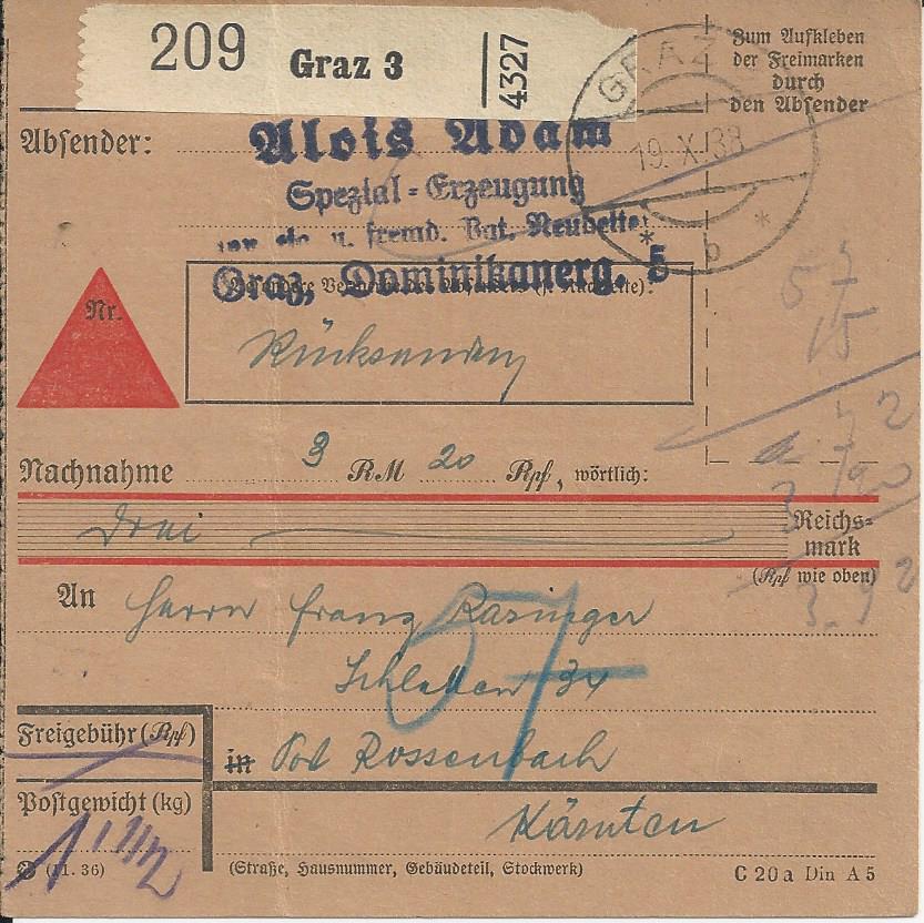 Österreich im III. Reich (Ostmark) Belege - Seite 22 Bild_690