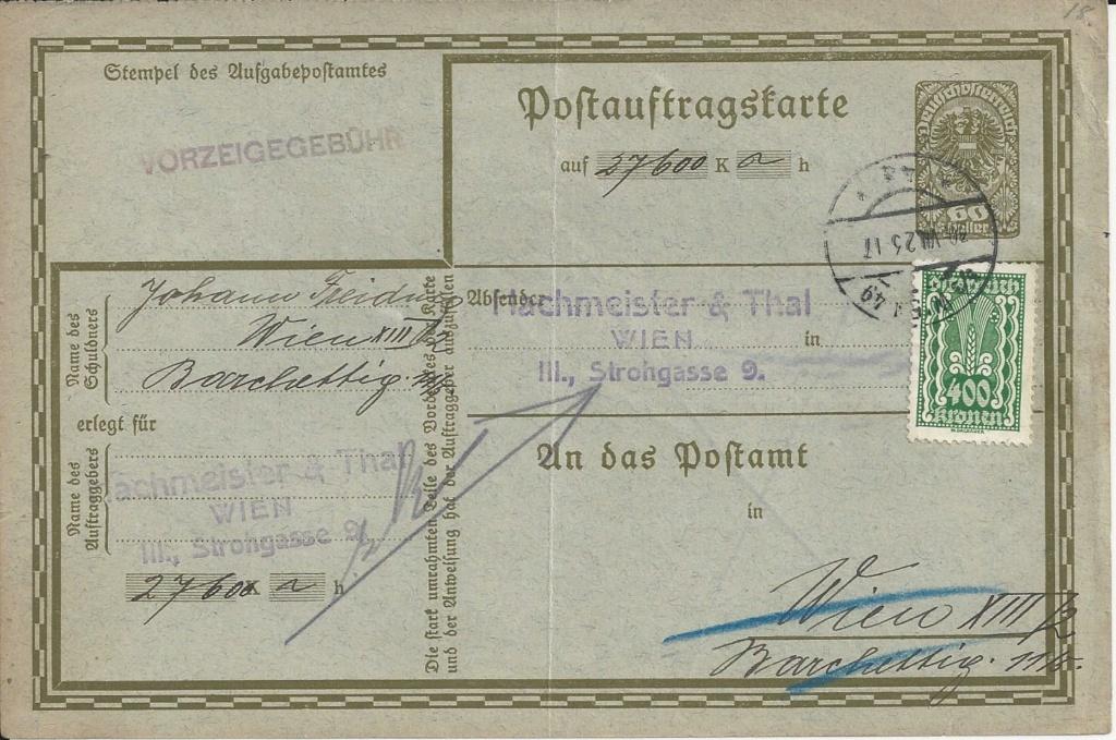 Inflation in Österreich - Belege - 1918 bis 1925 - Seite 25 Bild_704