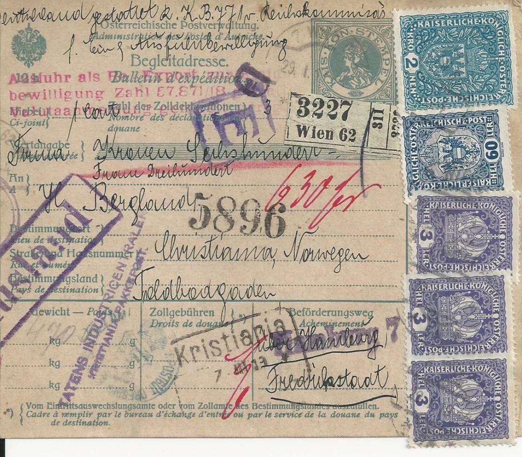 Inflation in Österreich - Belege - 1918 bis 1925 - Seite 25 Bild_705