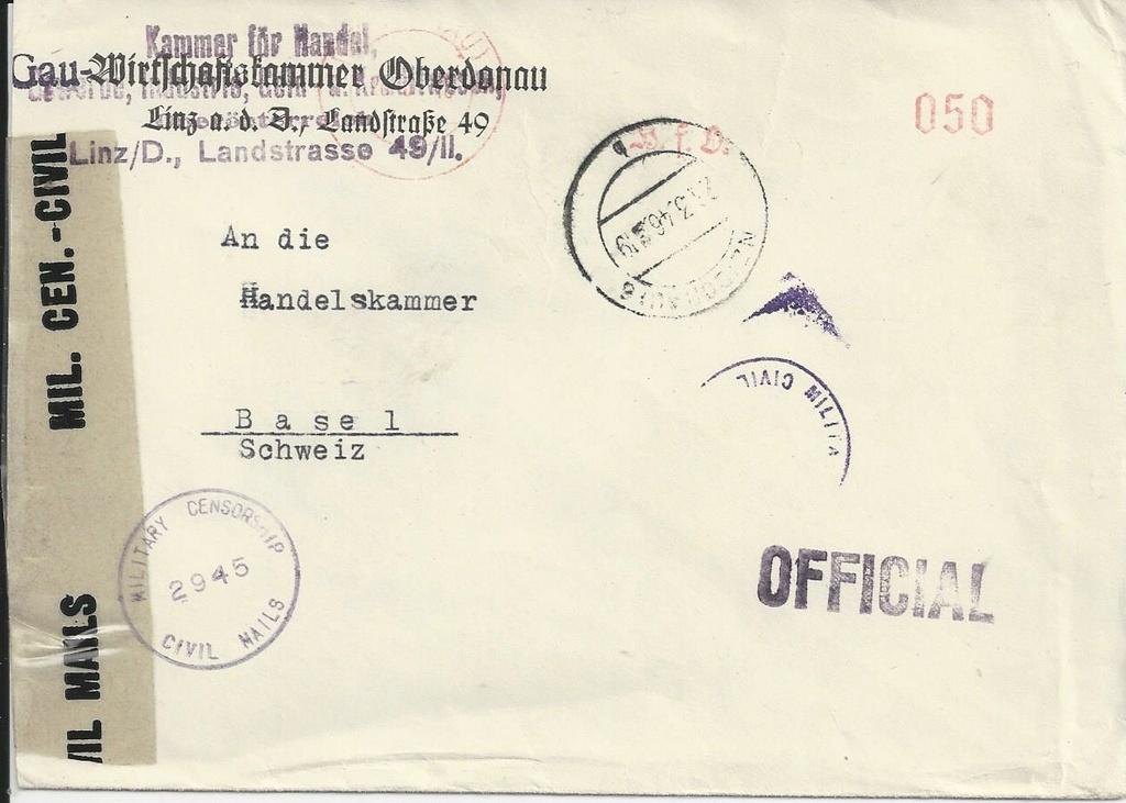 Sammlung Bedarfsbriefe Österreich ab 1945 - Seite 9 Bild_710