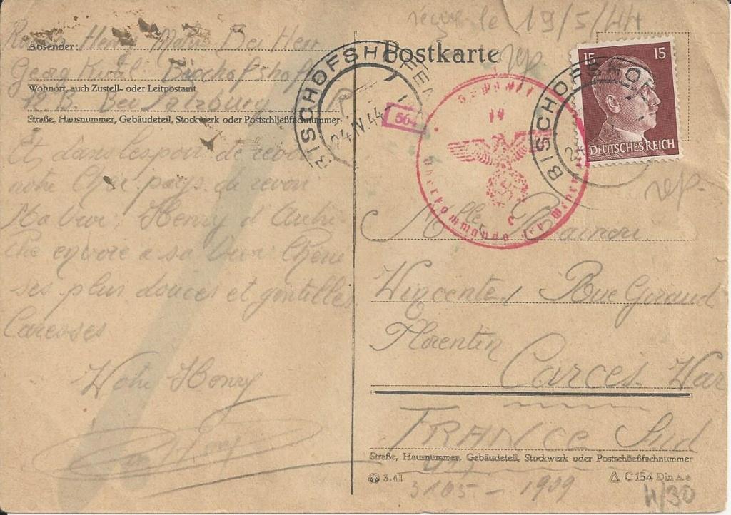 Österreich im III. Reich (Ostmark) Belege - Seite 19 Bild_732