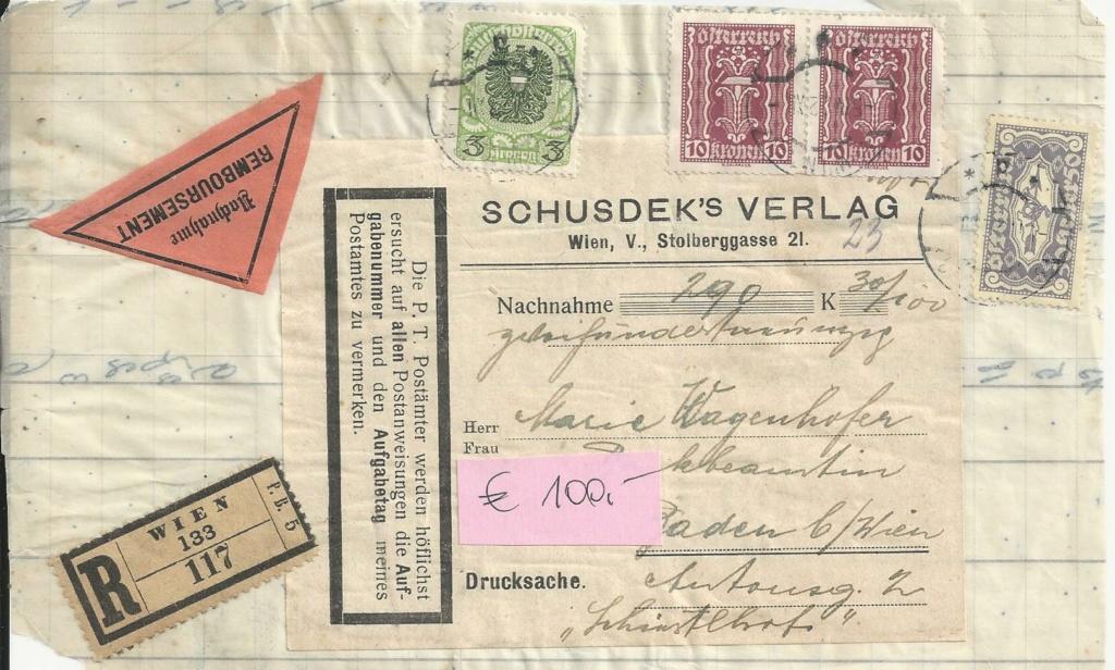 Inflation in Österreich - Belege - 1918 bis 1925 - Seite 24 Bild_741