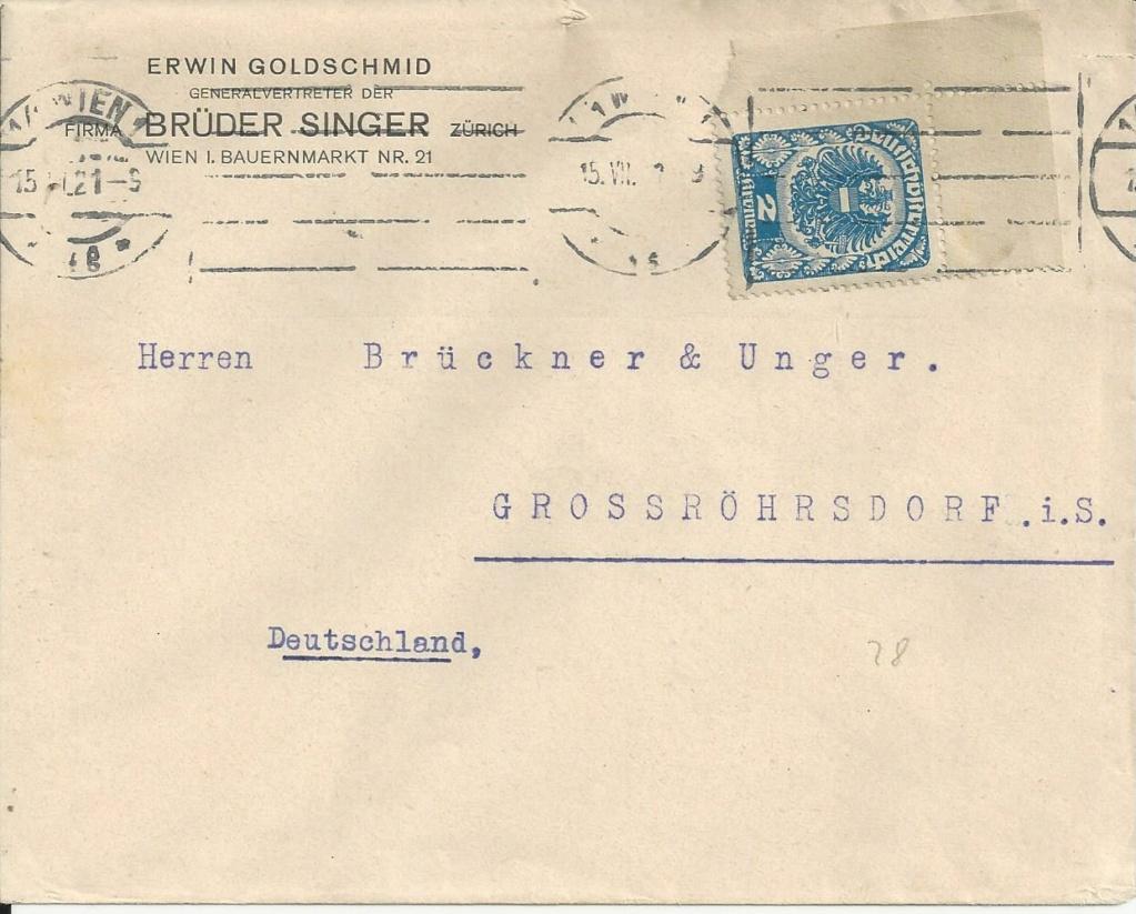 Inflation in Österreich - Belege - 1918 bis 1925 - Seite 25 Bild_746