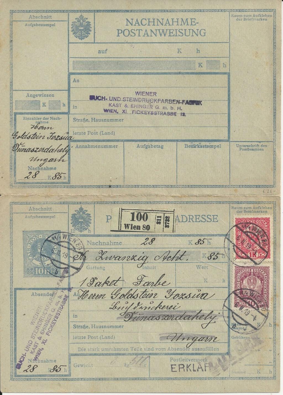 Inflation in Österreich - Belege - 1918 bis 1925 - Seite 26 Bild_781