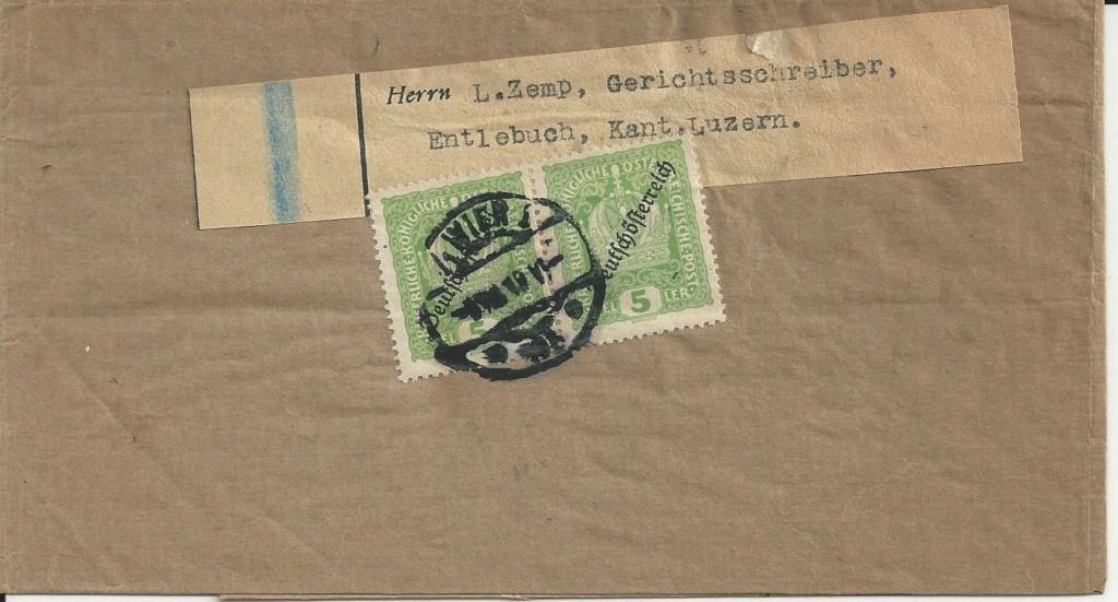 Inflation in Österreich - Belege - 1918 bis 1925 - Seite 26 Bild_787