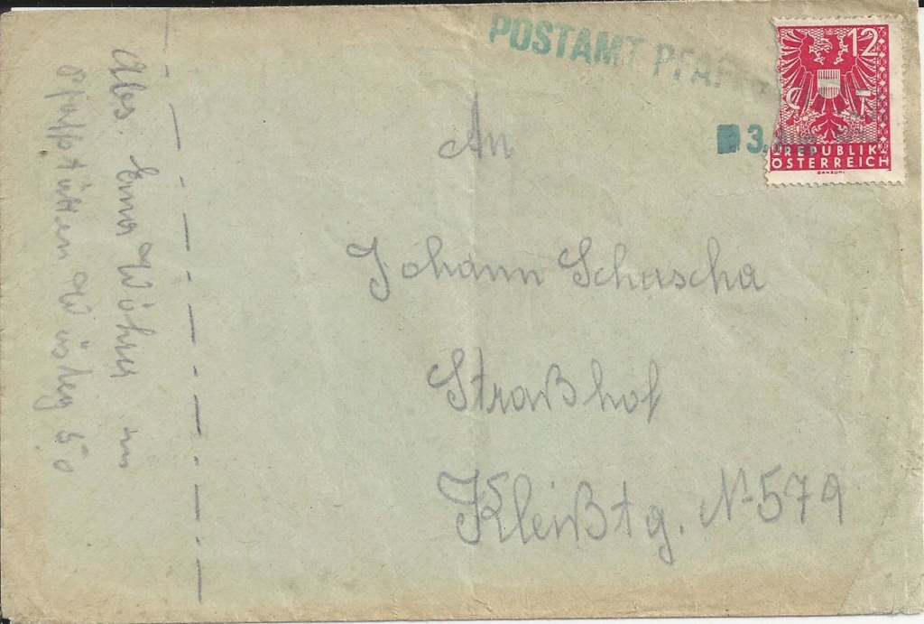 Notstempel Österreichs 1945 - 1946 Bild_814