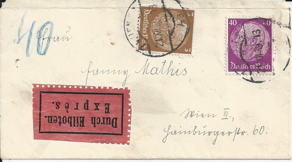 Österreich im III. Reich (Ostmark) Belege - Seite 23 Bild_832