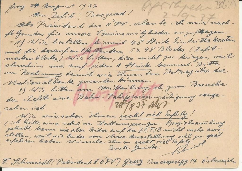 Bedarfspost Ganzsachen Österreich 1925-1938 - Seite 2 Bild_850