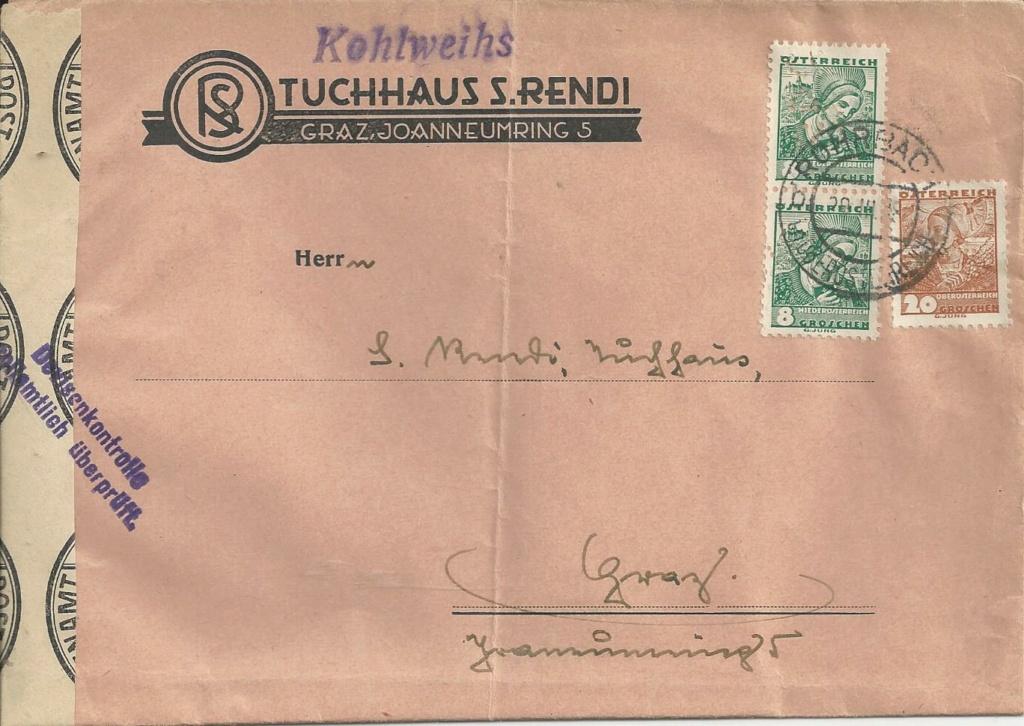 Österreich im III. Reich (Ostmark) Belege - Seite 26 Bild_934