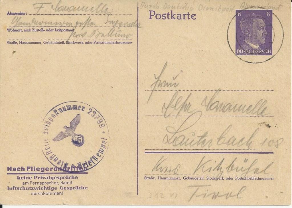 Österreich im III. Reich (Ostmark) Belege - Seite 27 Bild_972