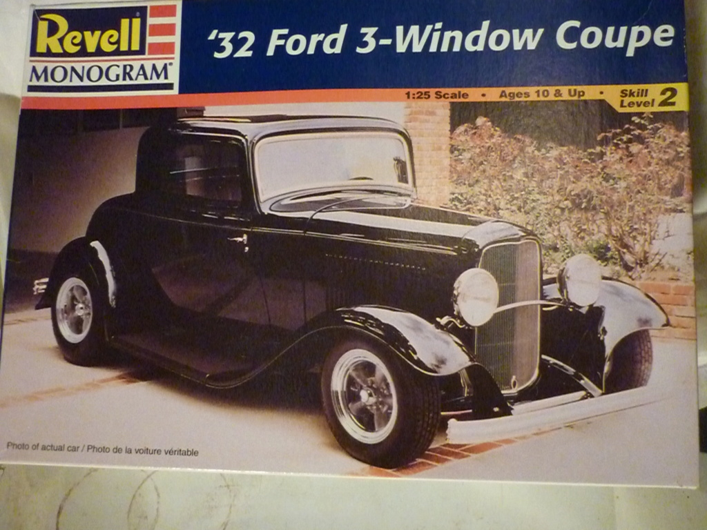 RATROD 32 Ford 3 : 1/25 : Revell Monogram  P1090118