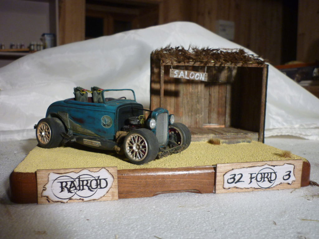 RATROD 32 Ford 3 : 1/25 : Revell Monogram  - Page 3 P1090421