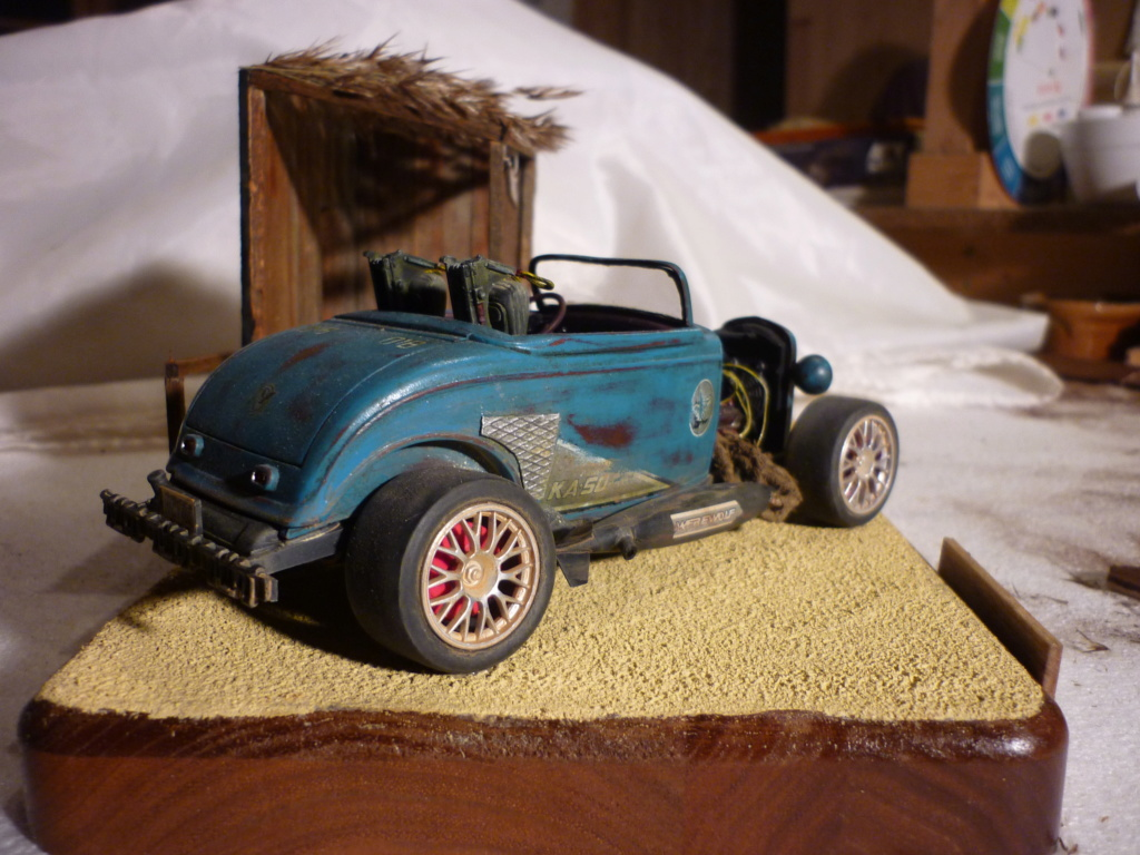 RATROD 32 Ford 3 : 1/25 : Revell Monogram  - Page 3 P1090422