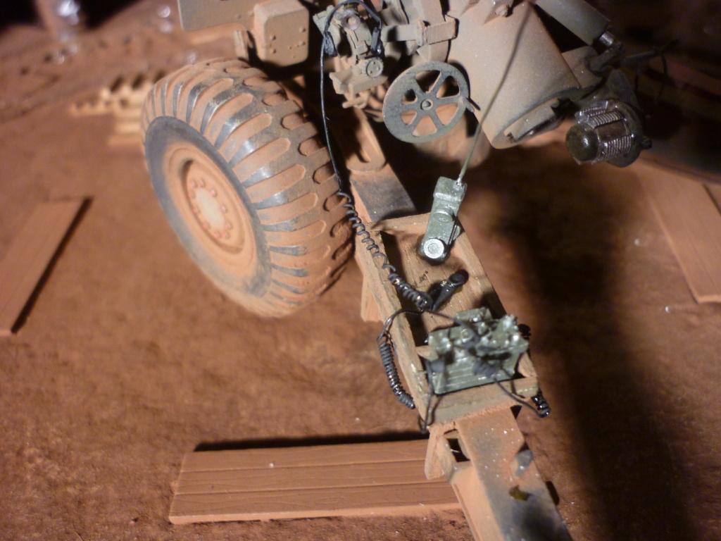Ravitaillement munitions base de tir - Howitzer 155mm Bronco 1/35 + M548A1 AFV CLUB 1/35 - Page 3 P1090521