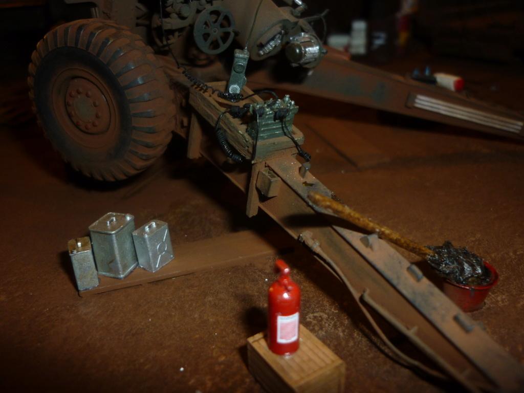 Ravitaillement munitions base de tir - Howitzer 155mm Bronco 1/35 + M548A1 AFV CLUB 1/35 - Page 3 P1090522
