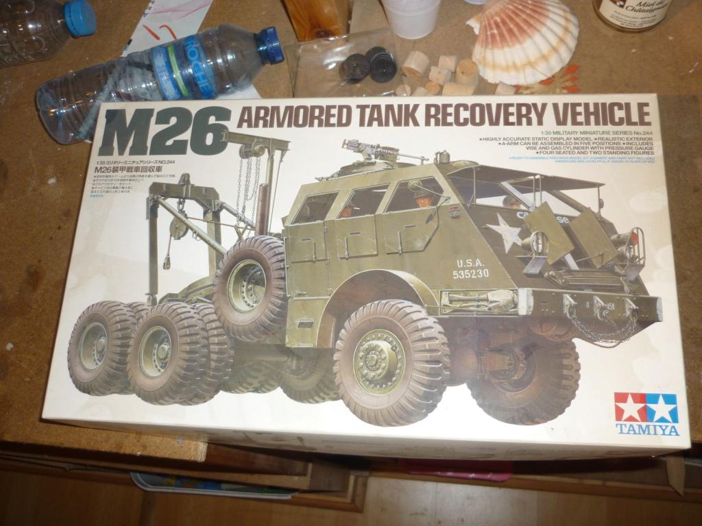 M26 armored tank recovery vehicule Tamiya 1/35  P1100913