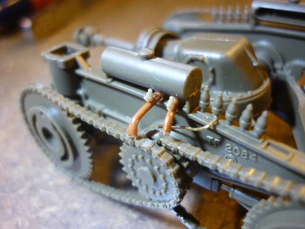 M26 armored tank recovery vehicule Tamiya 1/35  - Page 2 P1110120