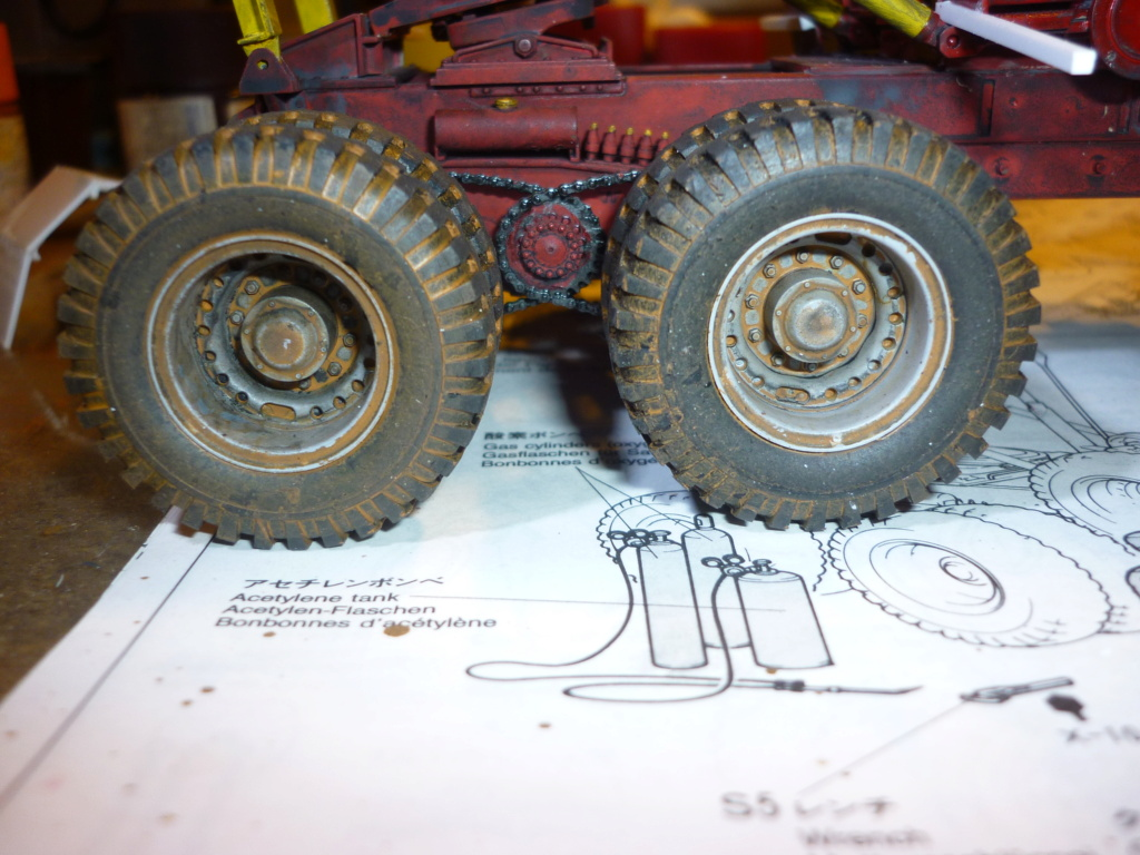 M26 armored tank recovery vehicule Tamiya 1/35  - Page 6 P1110337