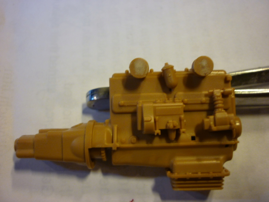 WWII german heavy 4WD cargo truck L4500 A schwerer LKW 4.5T Echelle 1:35 marque ZVEZDA  P1110421