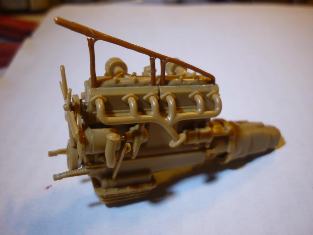 WWII german heavy 4WD cargo truck L4500 A schwerer LKW 4.5T Echelle 1:35 marque ZVEZDA  P1110422