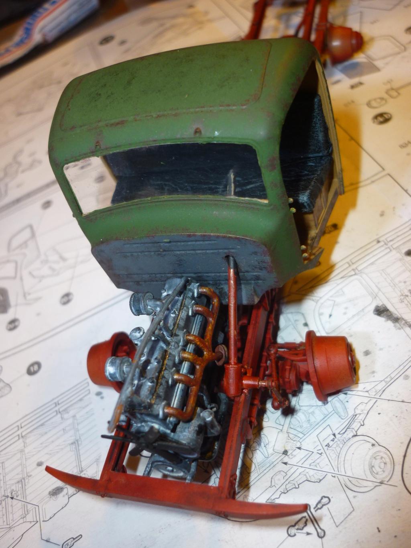 WWII german heavy 4WD cargo truck L4500 A schwerer LKW 4.5T Echelle 1:35 marque ZVEZDA  - Page 3 P1110524