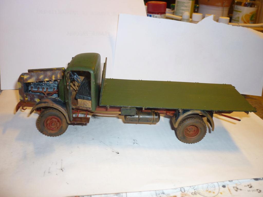 WWII german heavy 4WD cargo truck L4500 A schwerer LKW 4.5T Echelle 1:35 marque ZVEZDA  - Page 4 P1110616