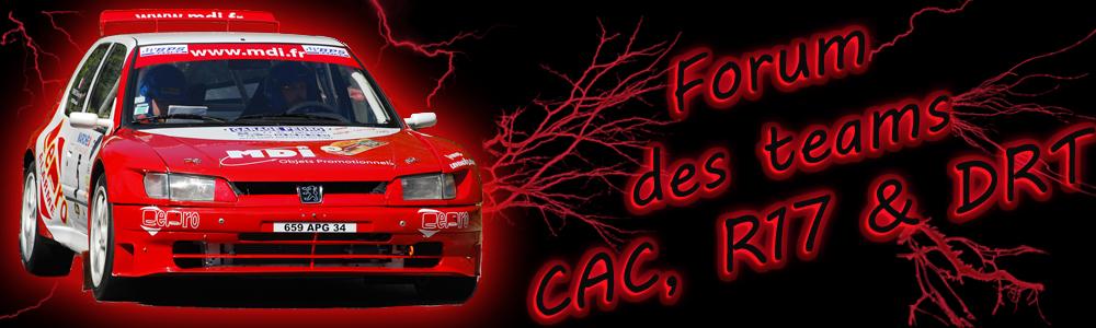 Forum des teams CAC, R17 &  DRT