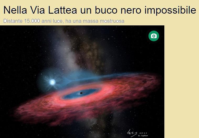 Stelle Costellazioni Nebulose Buchi Neri Blackh11