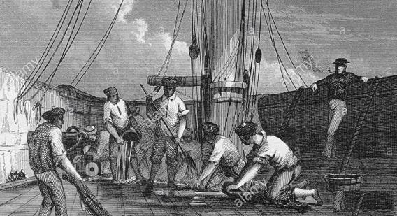 ... sulla passerella d'ingresso della nave in possesso … - Pagina 8 Lavpon10