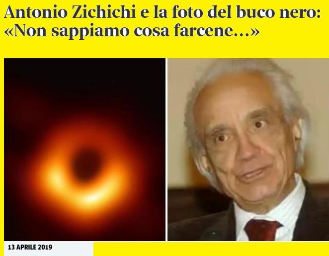 """Notizie """"Astronomiche""""... Zichic10"""