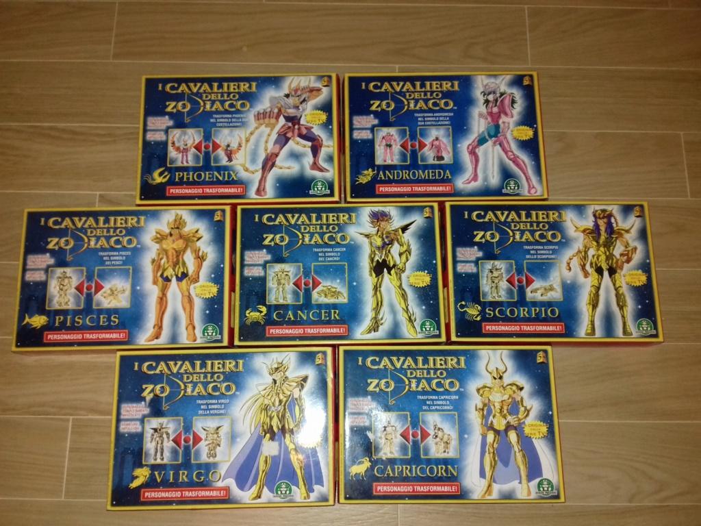 Lotto Cavalieri Zodiaco Mai Aperti 20190411
