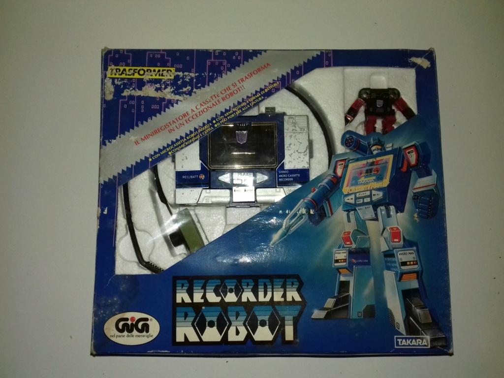 Recorder Robot Diaclone Radio Robot Transformers 20190423