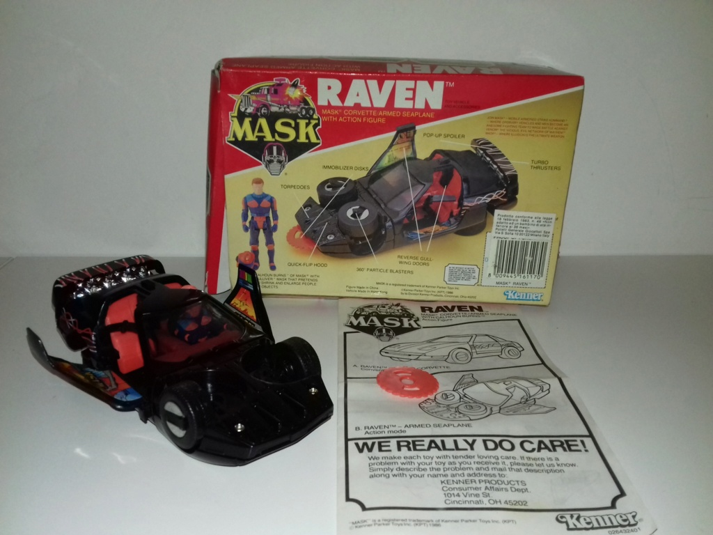 Lotto M.a.s.k. Mask Raven110
